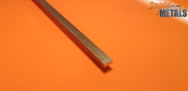 Brass Flat 19.1mm x 12.7mm