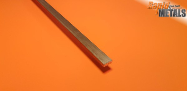 Brass Flat 25.4mm x 19.1mm