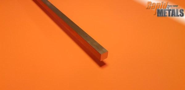 Brass Square 22.2mm