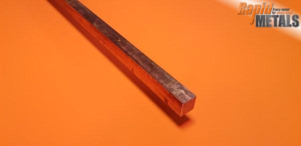 Copper (C101) Square 25.4mm