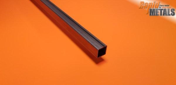 Mild Steel ERW Box 38.1mm x 38.1mm x 1.6mm Wall