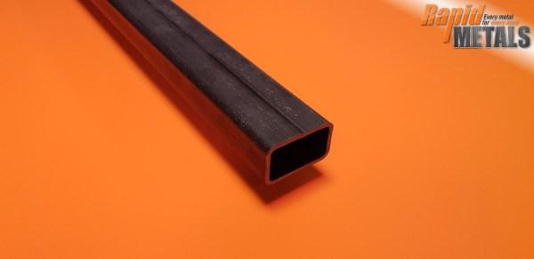 Mild Steel Box 50mm x 25mm x 3mm Wall