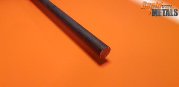En8 (080m40) Black 110mm Round