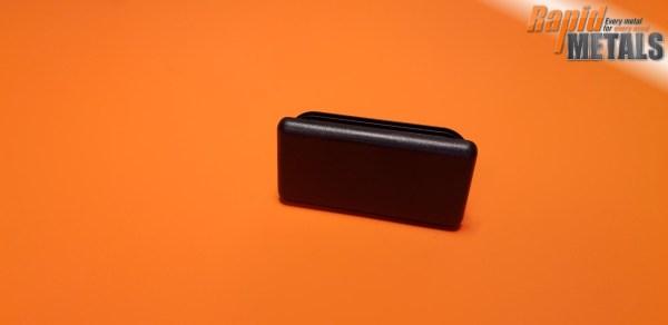 Plastic End Cap 50mm x 25mm x 3mm Wall