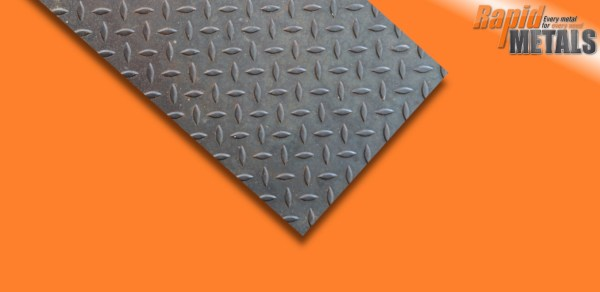Mild Steel Tread Plate 4.5mm