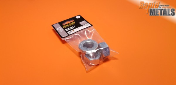 Threaded Nuts & Washers 8mm