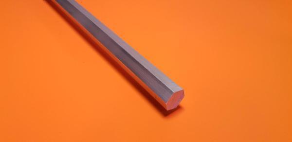 """Aluminium (6082) Hexagon 1/4"""""""