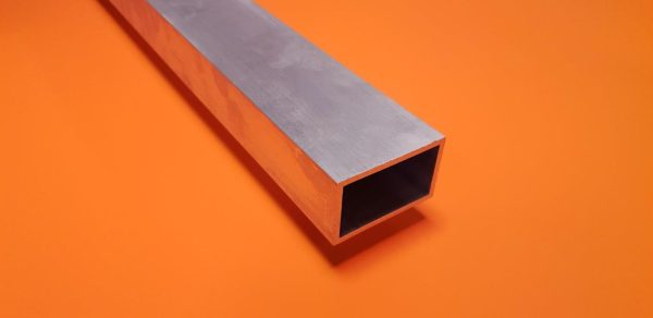"Aluminium Box 6"" x 2"" x 6.4mm Wall"
