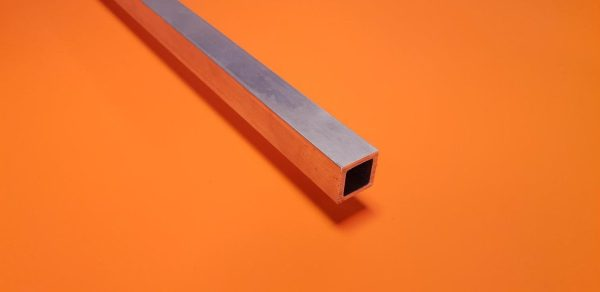 "Aluminium Box 3/4"" x 3/4"" x 1.6mm Wall"