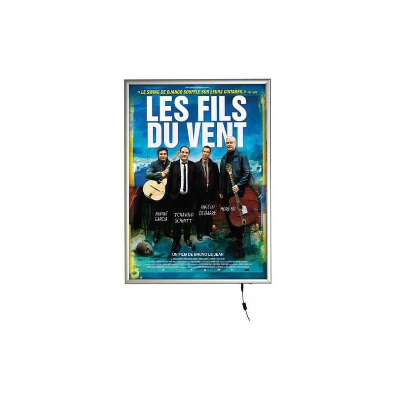 Porte Affiche Lumineux Vitrine Clairage LED Format A0