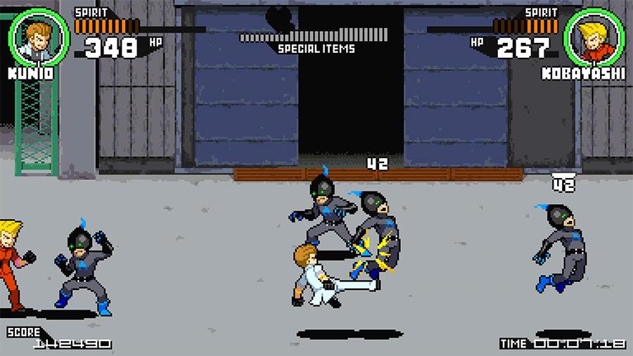 Everyone was kung-fu fighting
