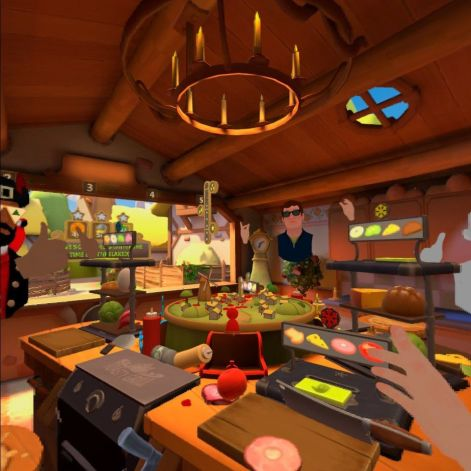 Cook-Out: A Sandwich Tale Oculus Quest