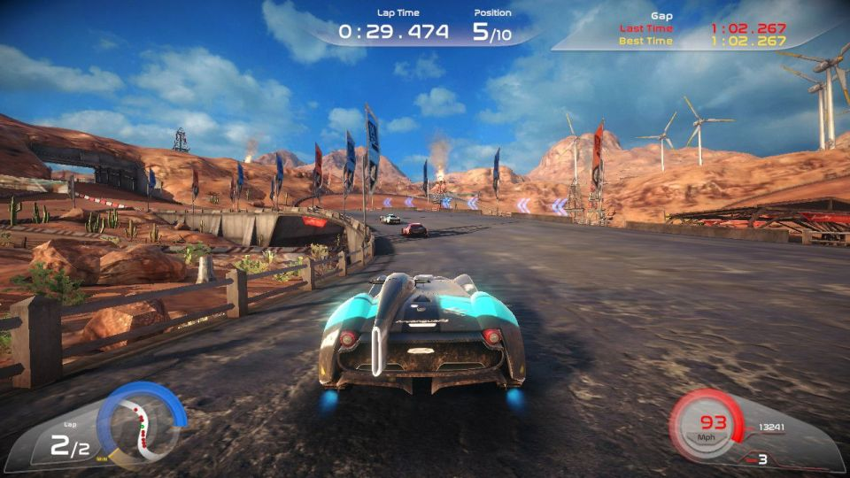 rise race the future review