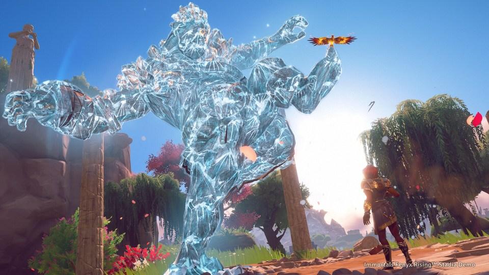 Immortals Fenyx Rising beasts