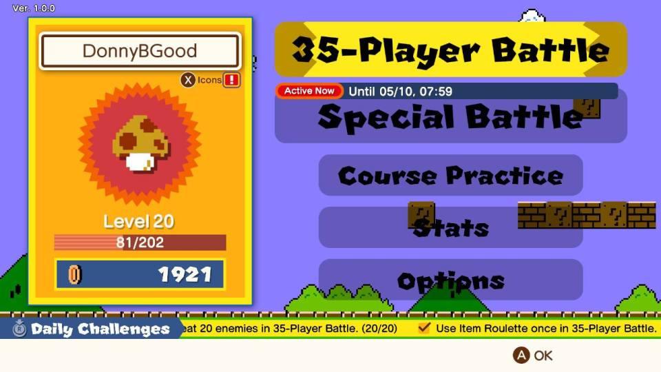 Super Mario Bros 35 Review