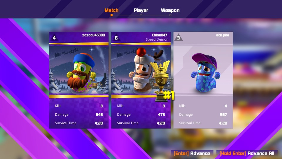 Worms Rumble Victory