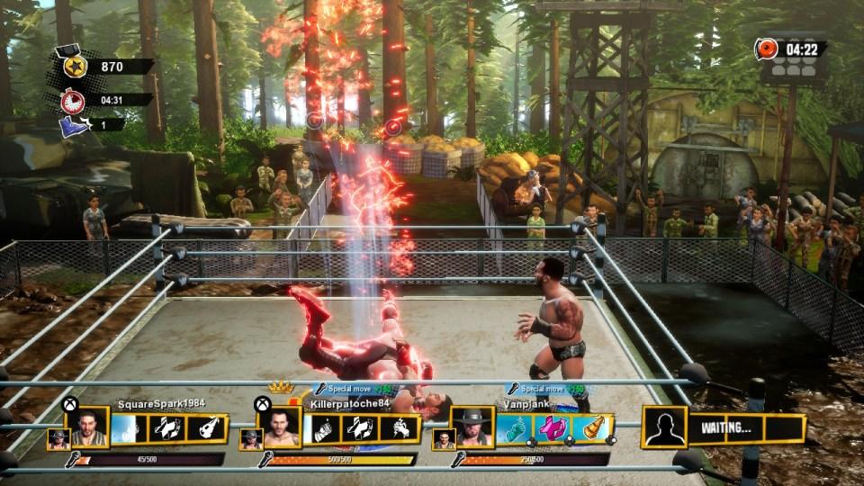 WWE Battlegrounds on Nintendo Switch
