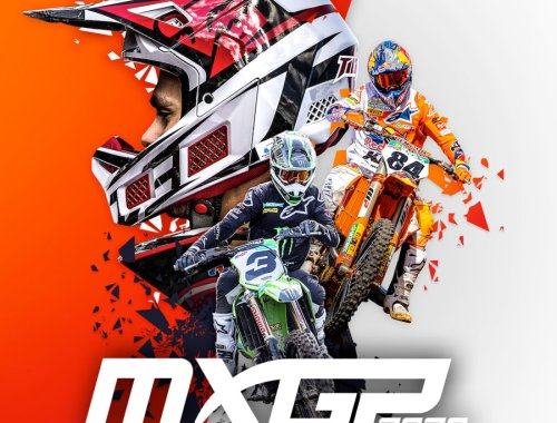 the logo of mxgp 2020 showing a motorcycle helmet