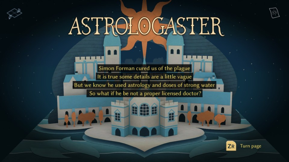 Astrologaster review Nintendo Switch