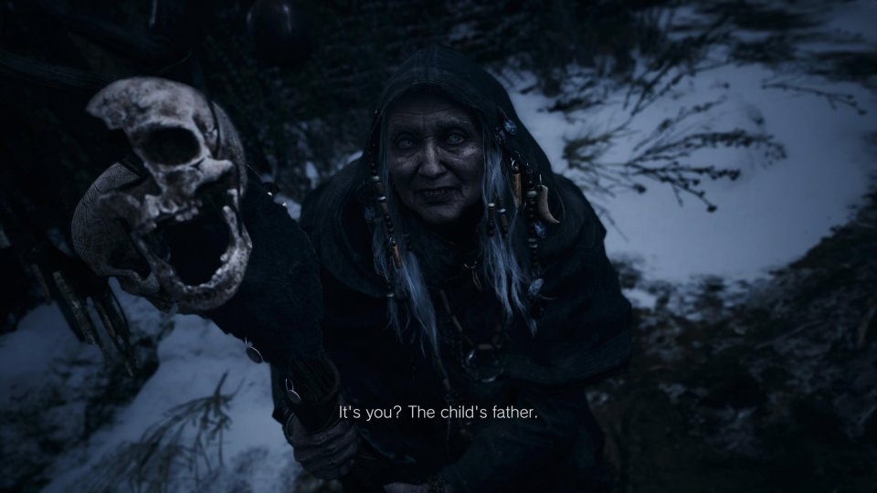 The Crone in Resident Evil Village