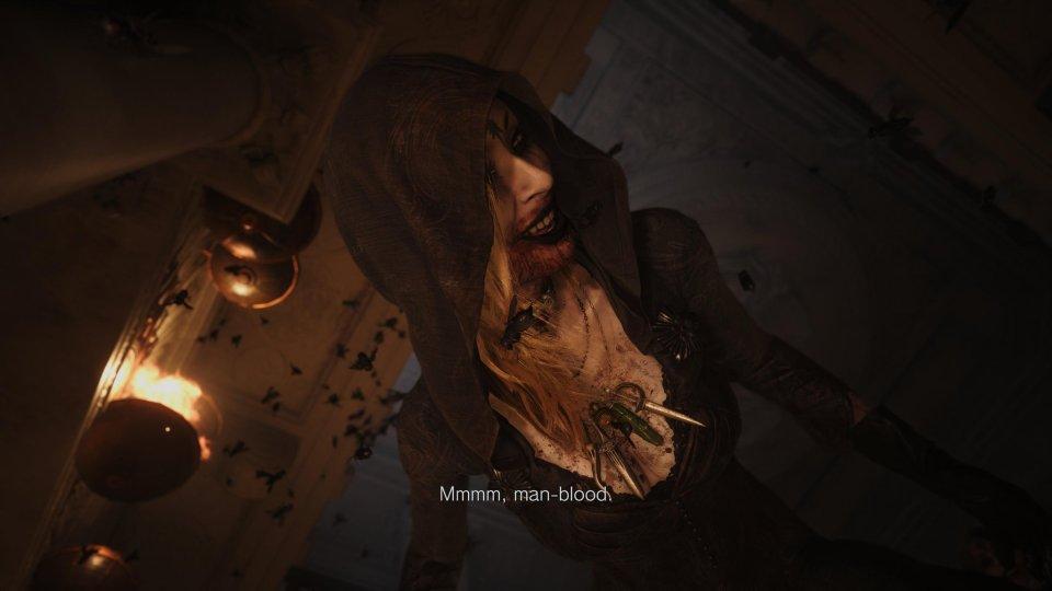 A little sister in Resident Evil Village