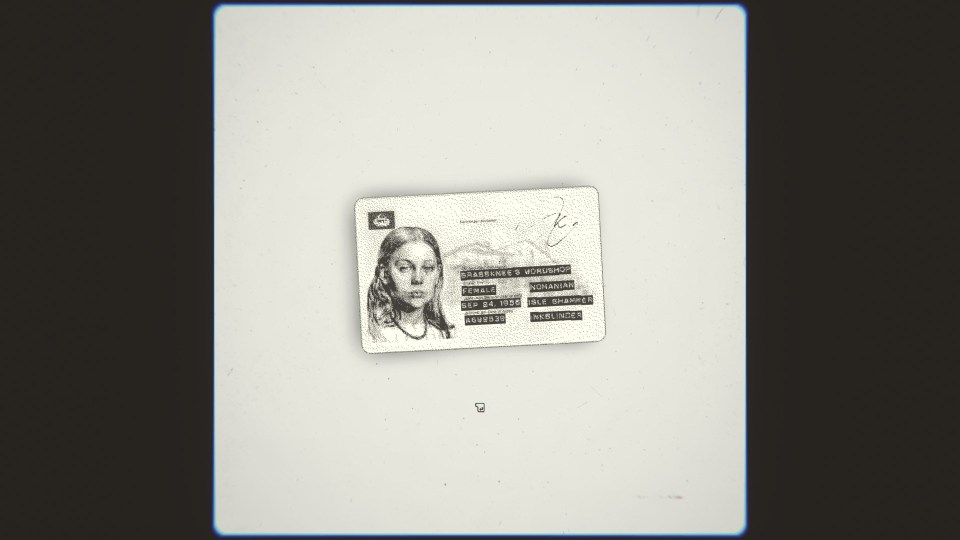The identity card of the inkslinger in the game Inkslinger