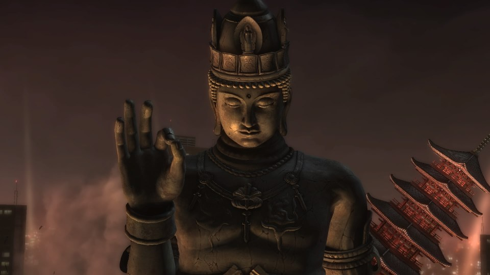 One of the bosses in Ninja Gaiden Sigma. It looks like a stone statue.