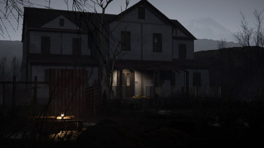 A creepy-looking suburban house with white board fronting and a porch.  Horror Story: Hallowseed Early Access Review on PC