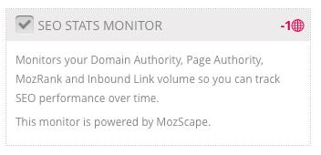 SEO Stats Monitor