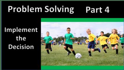 Problem Solving, Part 4: Making a Plan