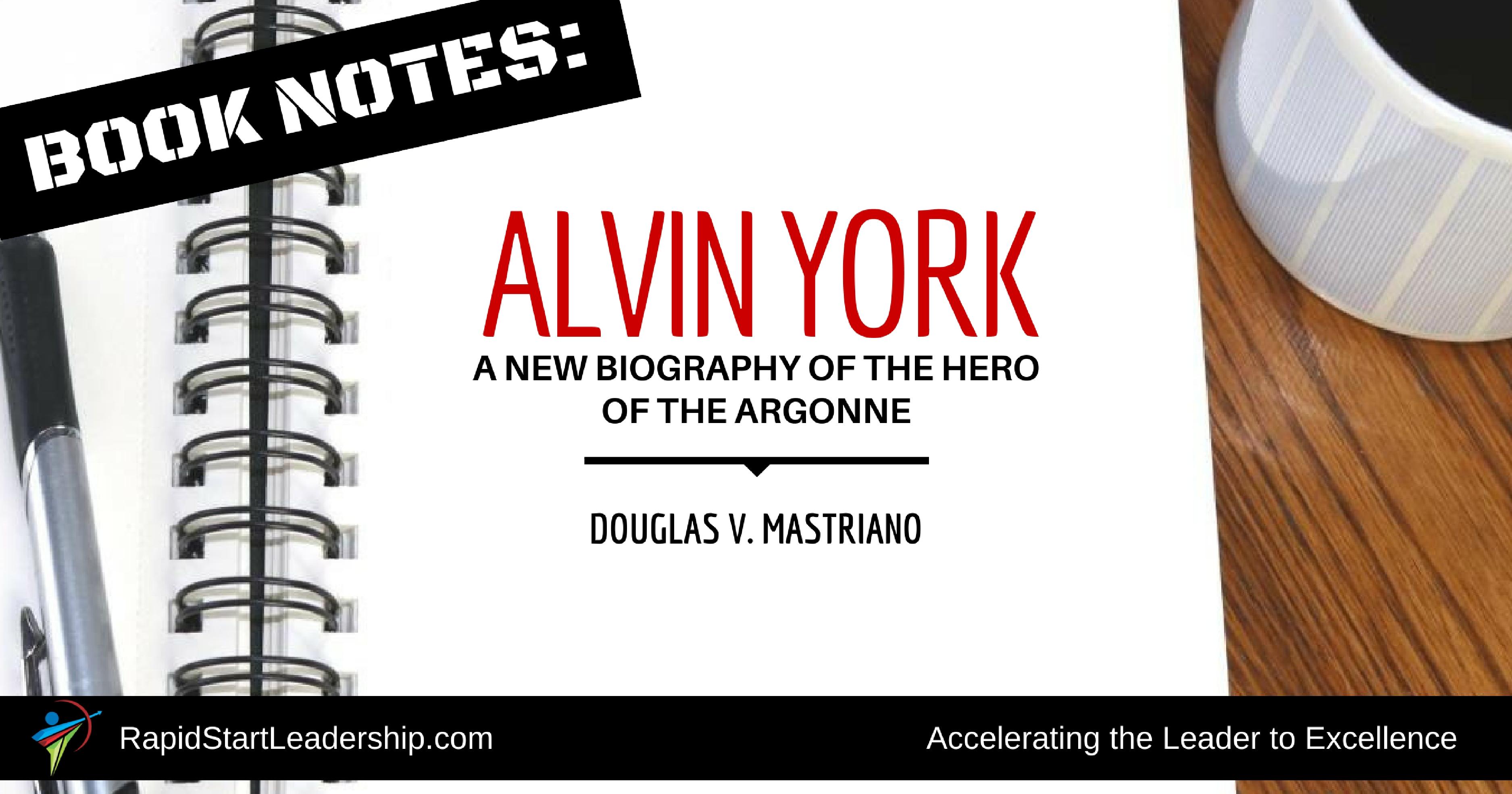 Alvin York - Douglas Mastriano