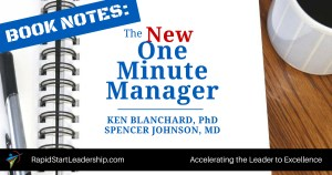 The One Minute Manager - Blanchard and Johnson