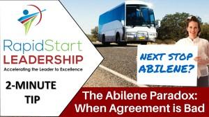Abilene Paradox