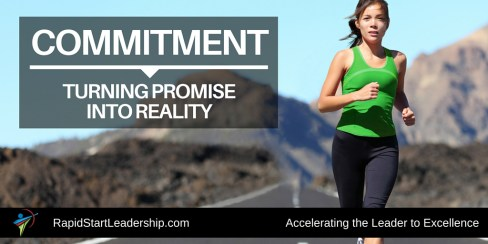 Commitment - Turning Promise into Reality