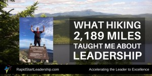 Appalachian Trail Leadership