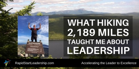 Appalachian Trail Leadership