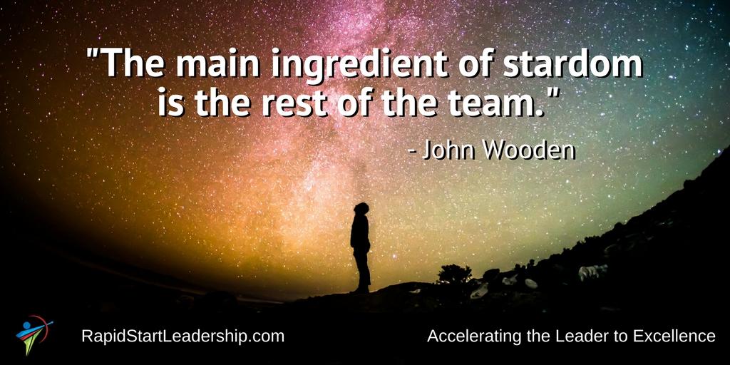 Teams Make Stars