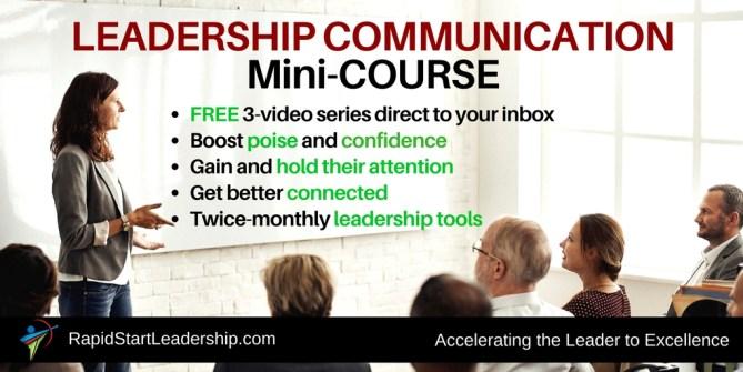 Leader Communication Skills