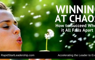 Winning Chaos - How to Succeed When it All Falls Apart