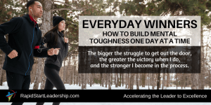 Building Mental Toughness - Everyday Winners