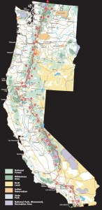 Finding the Right Direction: Pacific Crest Trail Map
