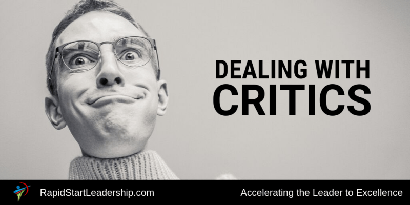 Dealing With Critics