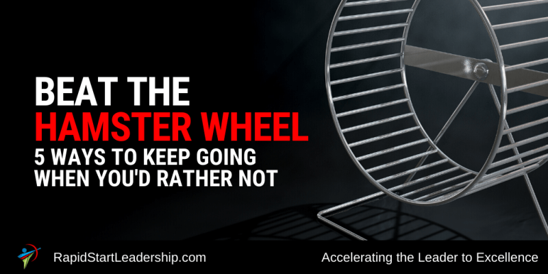 Beat the Hamster Wheel