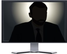 Video Conference Characters - The Lurker