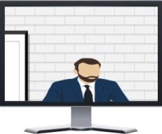 Video Conference Characters - The Supplicant