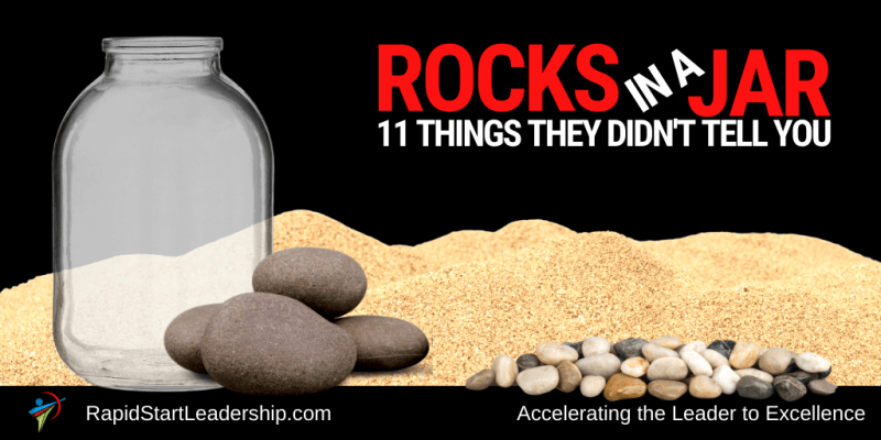 Rocks in a Jar - 11 Things they Didn't Tell You