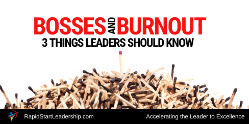 Bosses and Burnout