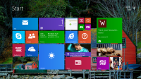 How to make Start bar Transparent in Windows 8