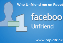 Who Unfriend You On Facebook