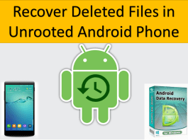 Recover Deleted Files Android Unrooted